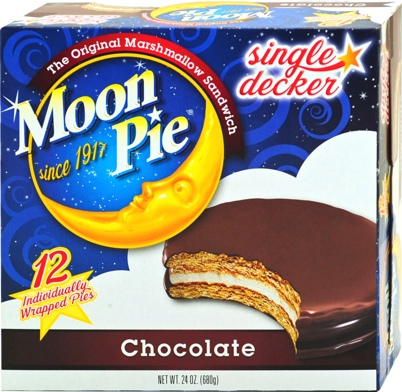 Chocolate Single Decker MoonPie | MoonPie